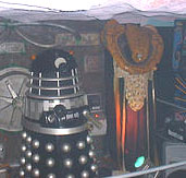 dalek from Doctor Who and Vorlon from Babylon 5