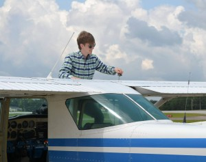 casey Kidd Flying 1