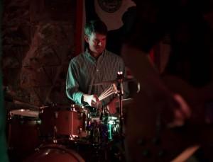 Dana drumming