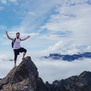 matt mountain climbing