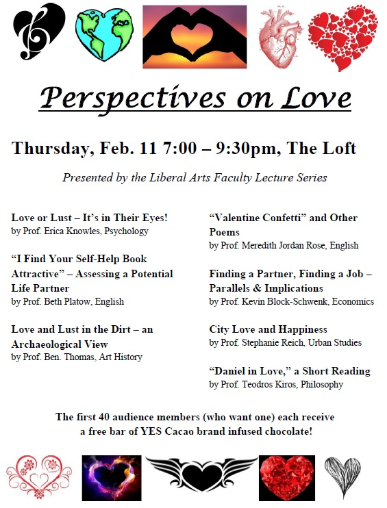 Perspectives on Love flyer
